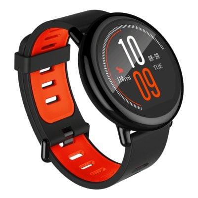 Xiaomi AMAZFIT Heart Rate Smartwatch - BLACK INTERNATIONAL VERSION DEAL