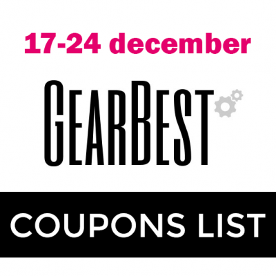 latest gearbest coupons codes